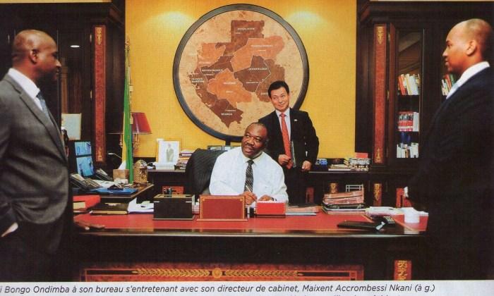 gabon presidente africa