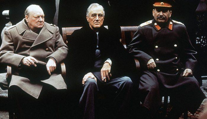 conferencia yalta guerra mundial crimea