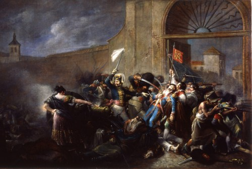 Madrid dos de mayo napoleon murat malasaña Carlos IV Fernando VII goya