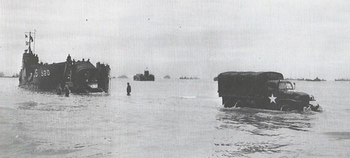 vehiculos desembarco normandia francia