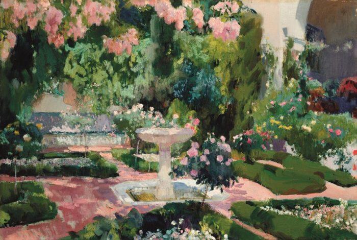 vida obra Joaquín Sorolla Jardín