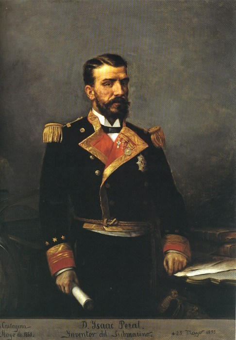 isaac peral submarino espana