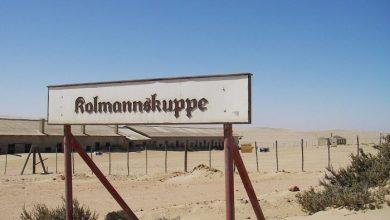 Photo of Kolmanskop, el antiguo poblado alemán que fue «engullido» por la arena