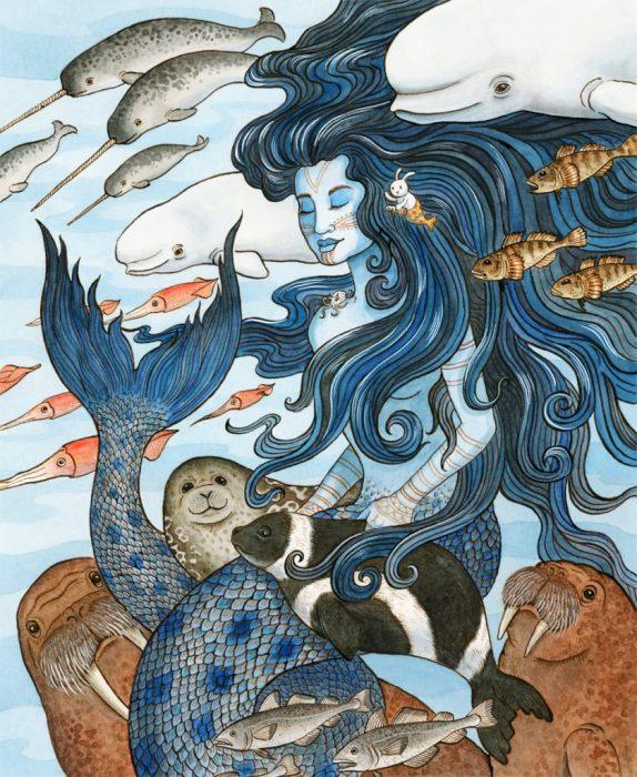 sedna diosa mar esquimal