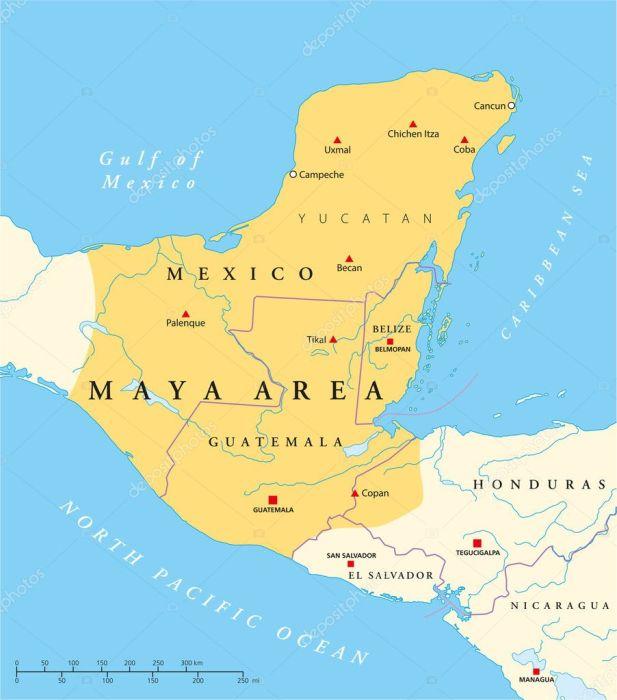 mayas centroamerica yucatán