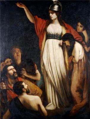 Boudica, por John Opie