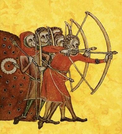 flecha inglesa medieval