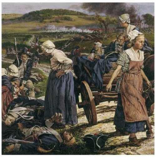 Las mujeres en la guerra de 1812