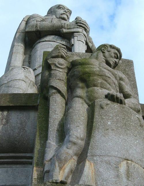 Monumento a Bismarck en Hamburgo