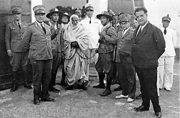 Arresto de Omar al-Mukhtar