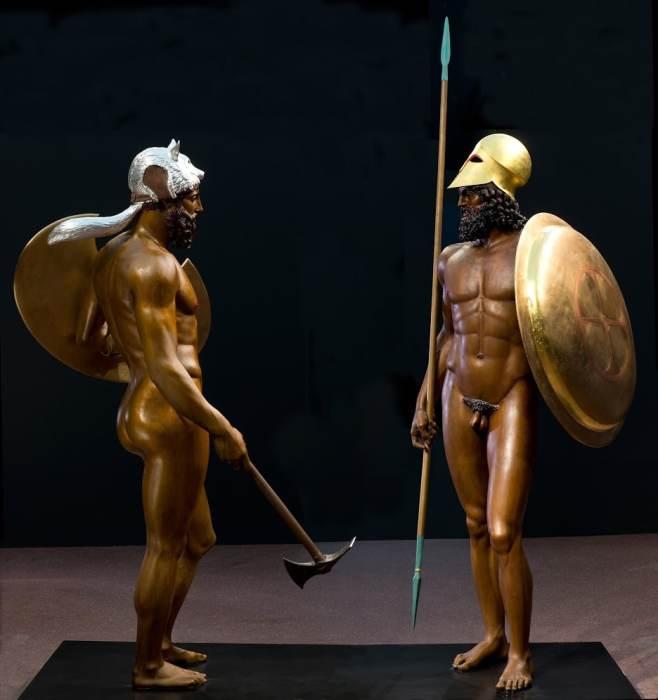 ricae bronces reconstruccion