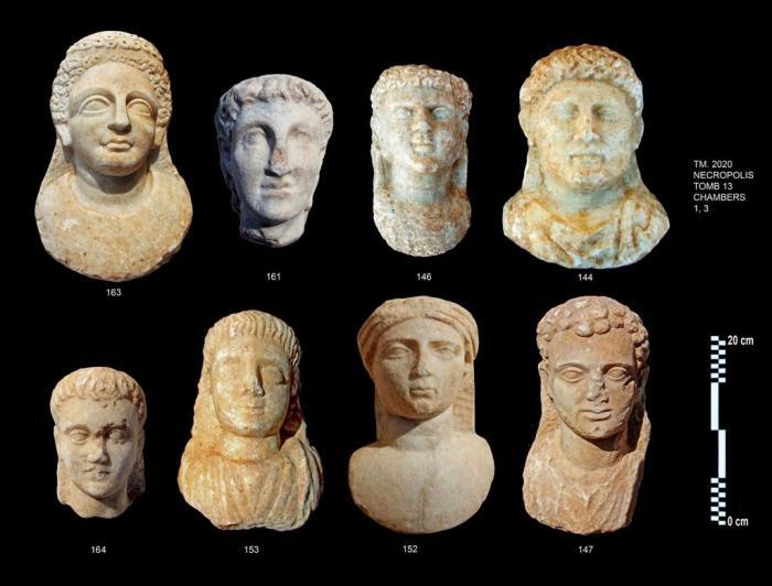 bustos marmol egipcio helenistico