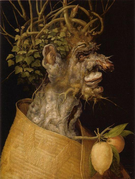 arcimboldo cuadros frutas