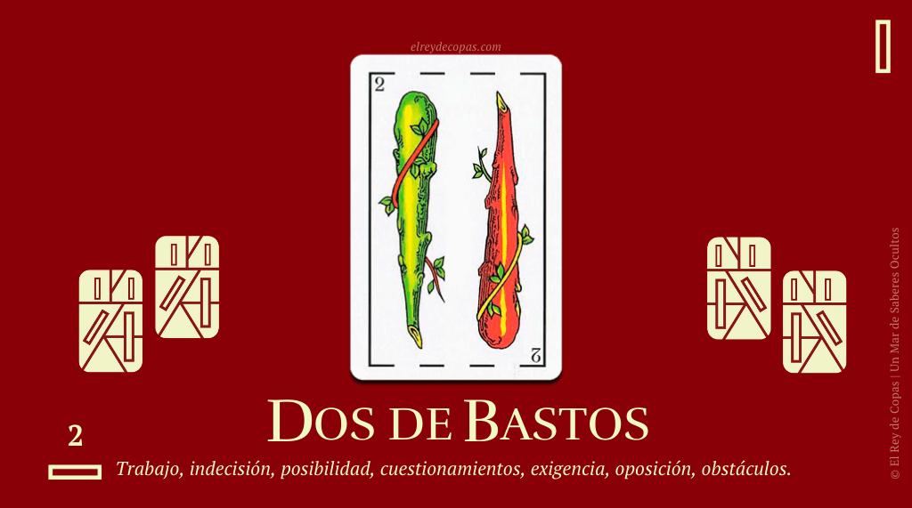 El Dos de Bastos y su significado en La Baraja Española