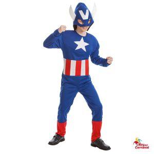 disfraz heroe americano