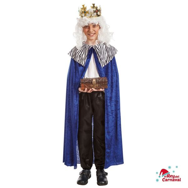 disfraz infantil rey Melchor