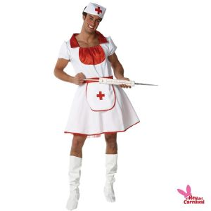 disfraz enfermera hombre