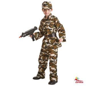 disfraz infantil militar