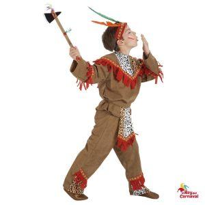 disfraz infantil indio