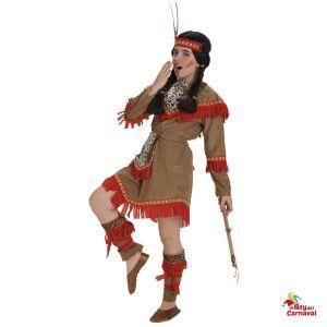 disfraz infantil india