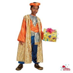 disfraz rey baltasar lujo infantil