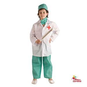 disfraz infantil medico