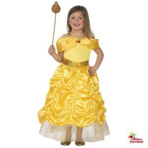 disfraz princesa dorada