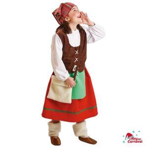 disfraz infantil pastora