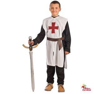 disfraz infantil templario