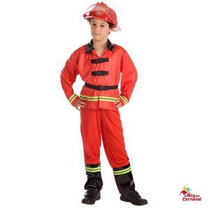 disfraz infantil bombero
