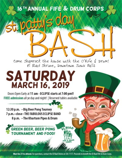 1IL St Patty Day BASH_100418