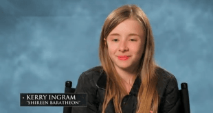 kerry ingram será shireen baratheon
