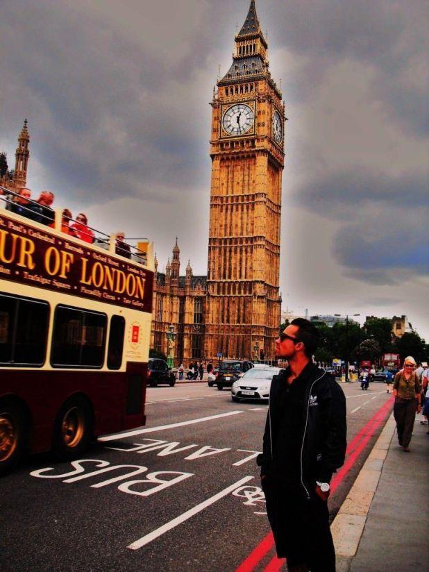 Felipe Delgadillo en Londres