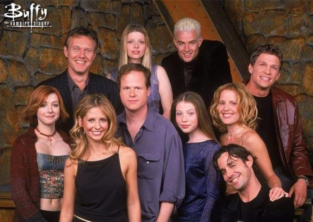 reparto buffy cazavampiros