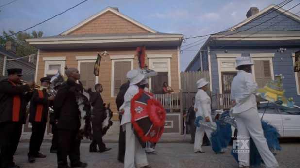 Desfile funerario por las calles de Nueva Orleans