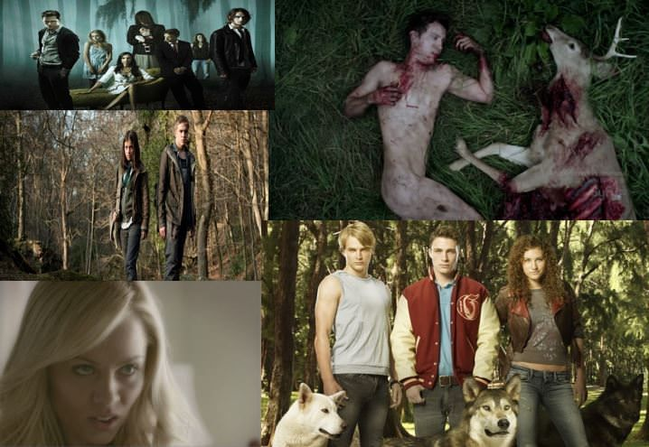 5 series parecidas a Teen Wolf