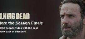 Season finale 4 The Walking Dead