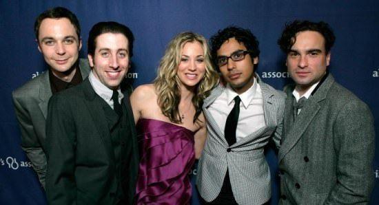 The Big Bang Theory nucleo