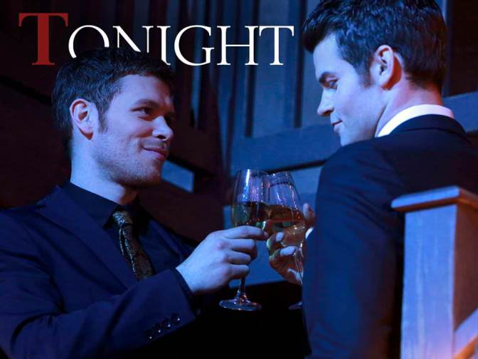 The Originals 1x17 Moon Over Bourbon Street - Klaus y Elijah