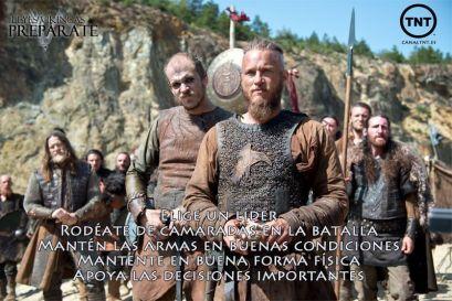 Ley preparación Vikingos
