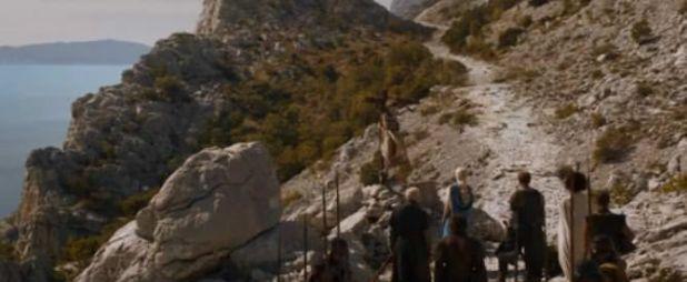 Juego de Tronos 4x01 Two Swords - Camino a Mereen