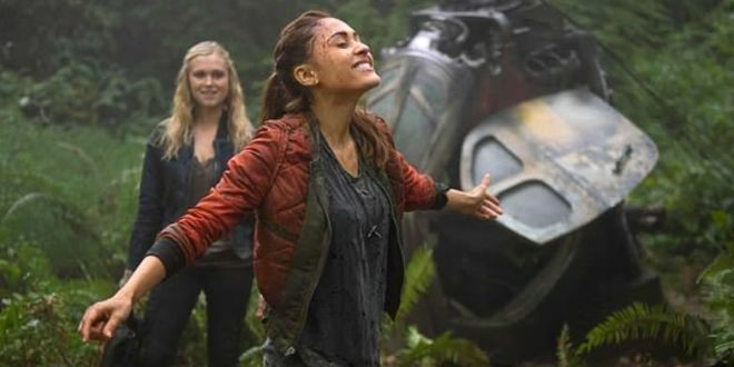 The 100 1x05 Twilight's Last Gleaming - Raven