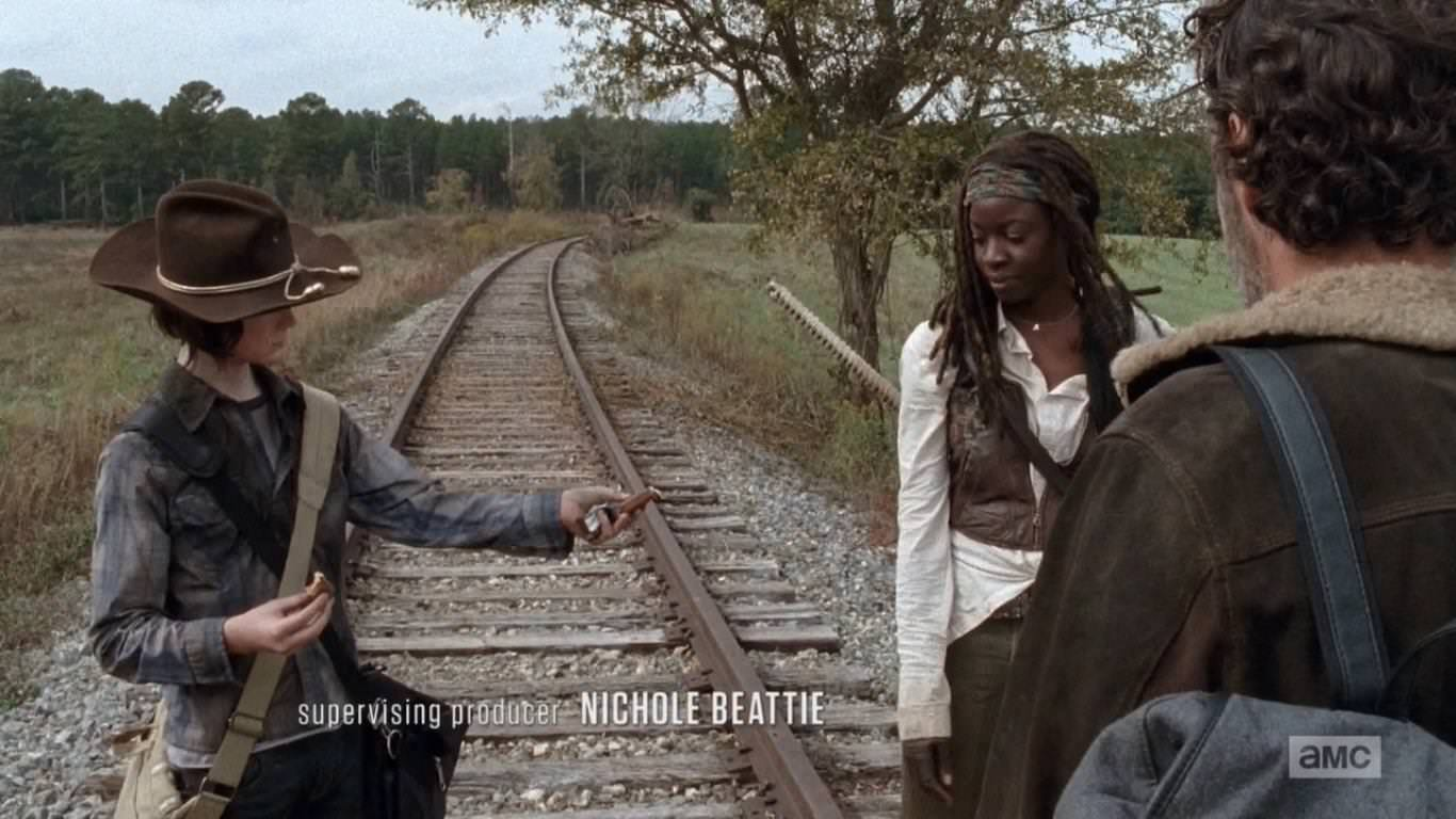 Entrevista a Scott Gimple, showrunner de The Walking Dead - Gimple define la relación de Carl y Michonne como profunda