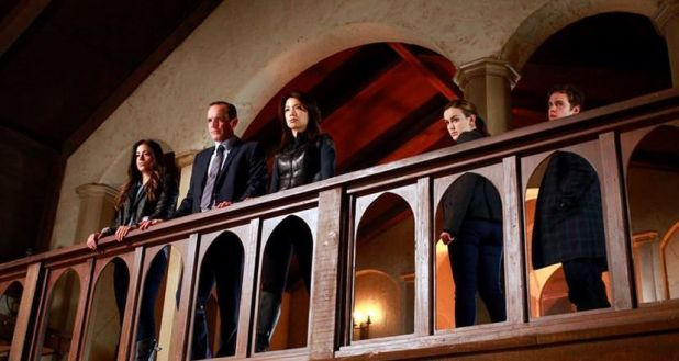 Agents of Shield 1x22 Beginning of the End - Equipo sin Ward