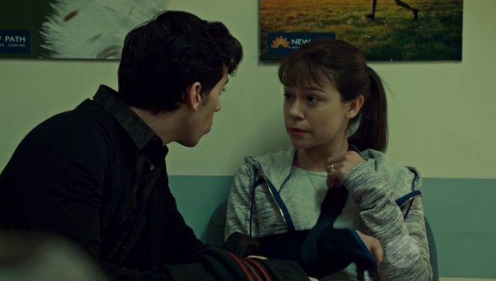 Orphan Black 2x04: Alison está internada en una clínica de desintoxicación ante la amenaza de perder a sus hijos.