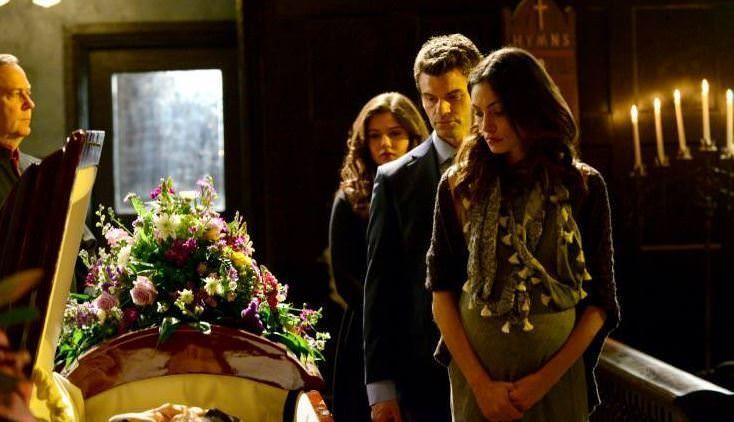 The Originals 1x20 A Closer Walk with Thee - Entierro Padre Kieran