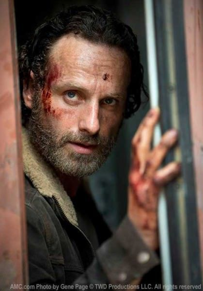 Detalles de la temporada 5 de The Walking Dead - Andrew Lincoln (Rick)