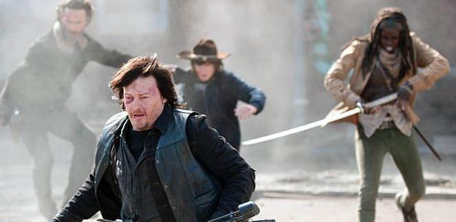Detalles de la temporada 5 de The Walking Dead - Secuestro