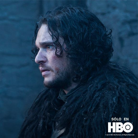 Jon Snow en Juego de Tronos 4x10 The Children