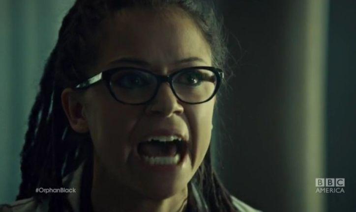 Orphan Black 2x07: Cosima muestra su fuerte carácter al enterarse que las células madre de su tratamiento son de Kira.